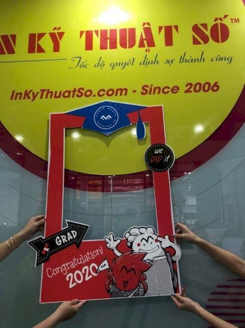 Làm khung ảnh formex - Mẫu khung chụp ảnh check in trên Việt Nam Printing
